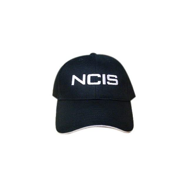 66c3dfc14fa NCIS Special Agents Logo Black Cap Adjustable Hat on PopScreen