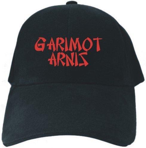Caps Black Embroidery