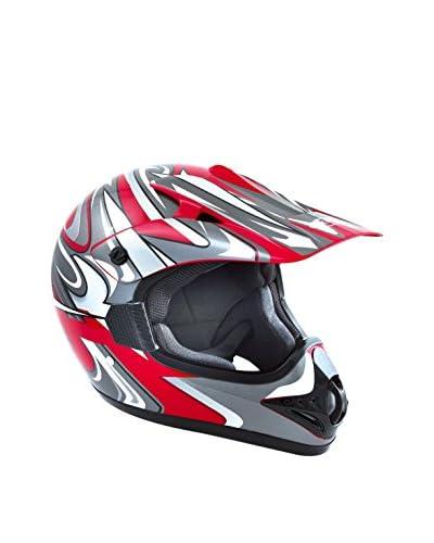 Akira Casco de Moto Akira Ishido Motocross