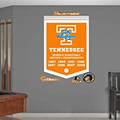 NCAA Tennessee Volunteers Ladies Basketball National Champions Banner Wall Graphic by Fathead