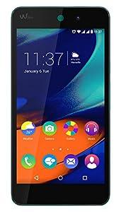 Wiko Rainbow Up Smartphone débloqué 4G (Ecran: 5 pouces - 8 Go - Double SIM - Android 5.1 Lollipop) Bleen
