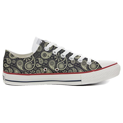 Converse All Star Hi chaussures coutume (produit artisanal) Indian Paisley