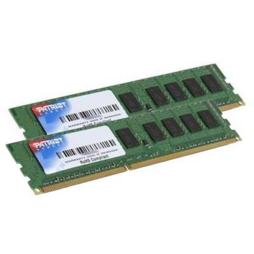 Patriot Signature DDR3 8 GB (2 x 4 GB) CL9 PC3-12800 (1600MHz) 240-Pin DDR3 Desktop Memory Kit PSD38G1600K