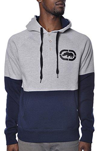Marc Ecko Unlimited Two Tone Fleece Sweater Hoodie Xl
