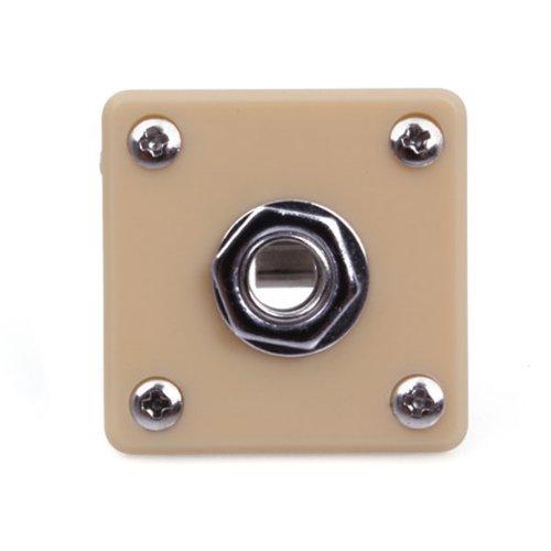 Dshl Guitar Bass Jack Plate Socket W/Screws