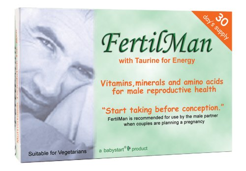 Babystart FertilMan Fertility Vitamins for Men x30 Capsules