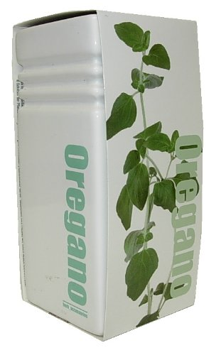 GreenBrokers Trendy Square Ceramic Vase Grow Your Own Herbs Kit - Oregano