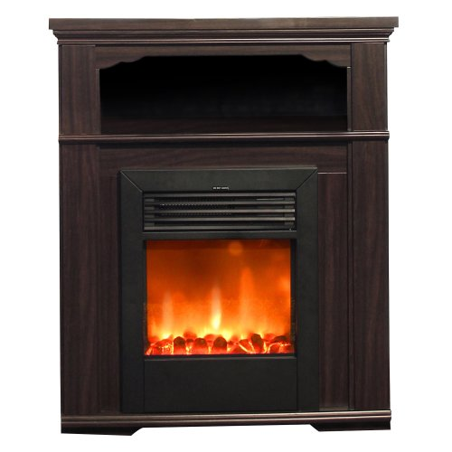 Yosemite Home Decor Df-Mp33 33-Inch Terra Electric Fireplace Mantel Package