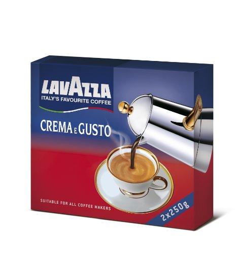Lavazza - Crema e Gusto, Miscela di Caffè, Gusto Classico - 500 g