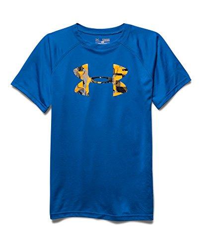 Under Armour Boys' Tech Big Logo T-Shirt, Ultra Blue (908), Youth X-Large