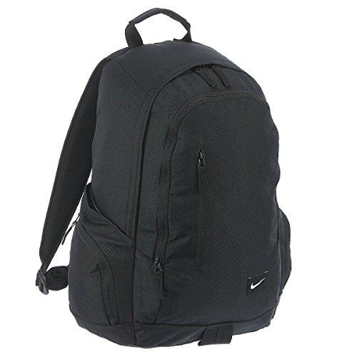 Nike All Access Fullfare Zaino, Black/Black/(White), Taglia Unica