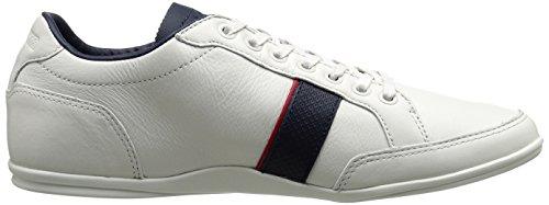 Lacoste Men's Alisos 116 1 Fashion Sneaker, Off White, 11.5 M US