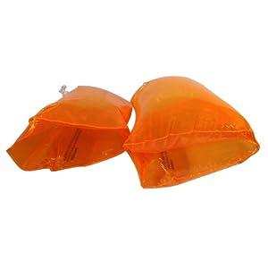 Intex Inflatable 7 In. X 7 In. 8 Ga, Flexible Vinyl Orange
