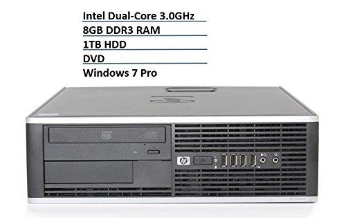 HP Elite Slim Desktop Business Computer (Intel Dual-Core Processor up to 3.0