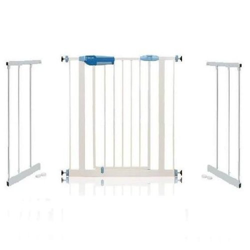 Lindam Easy Fit Premium Stair Gate with Extensions 130cm - 137cm