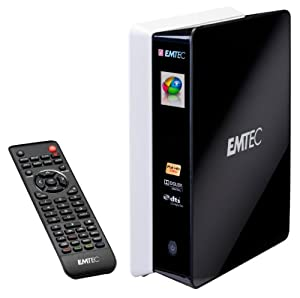 "Emtec Movie Cube S850H Lecteur multimédia enregistreur 3,5"" 1 To"