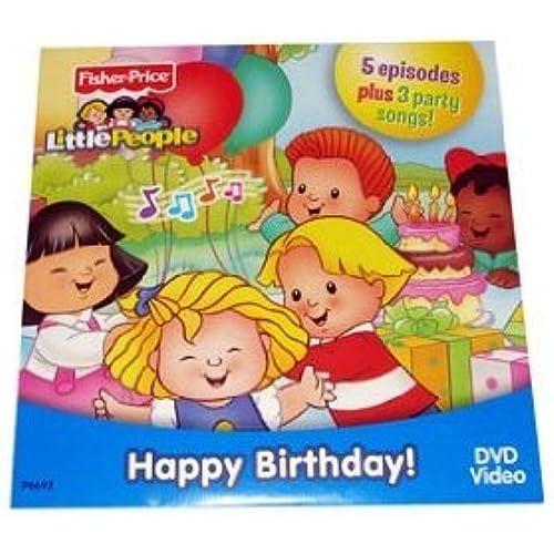 Fisher Price (휘셔 프라이스) Little People 50th Birthday DVD 피규어 장난감 인형 (병행수입)-