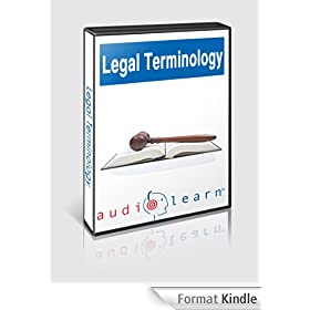 Legal Terminology - Top 500 Legal Terminology Words You Must Know! (English Edition)