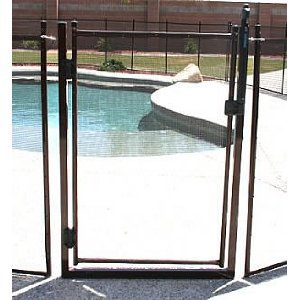 Classic Guard 4' Tall Self Closing / Self Latching Pool Fence Gate