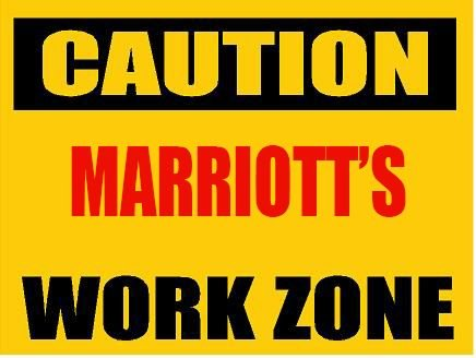 6-caution-marriott-work-zone-magnet-for-any-metal-surface