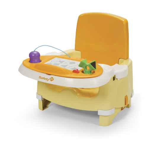 Safety 1st Snack and Scribble Booster Seat, Yellow - 1