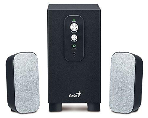 Genius Aktiv Lautsprechersystem 2.1 Lautsprecher System Box Boxen Pc Computer