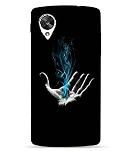 Case Cover Abstract Printed Colorful Hard Back Cover For LG Google Nexus 5