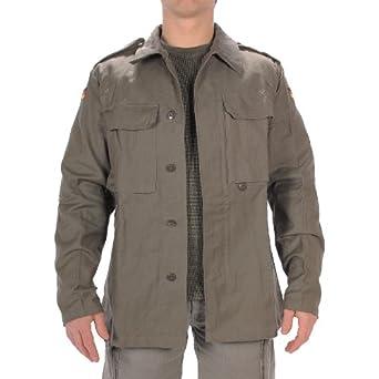Mil Tec Bw Moleskin Jacket Olive At Amazon Men S Clothing