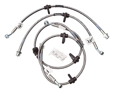 Edelbrock / Russell 684600 Direct Bolt-On Street Legal Brake Line Kit