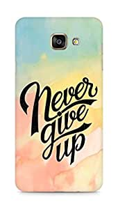 AMEZ never give up Back Cover For Samsung Galaxy A7 (2016 EDITION)