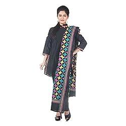 Darbari Women's Dupatta (OL-411_Multi Colour_Free Size)