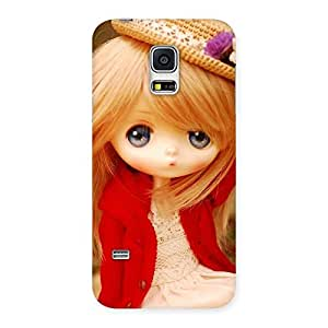 Ajay Enterprises Extant Cuty Angel Wearing Hat Back Case Cover for Galaxy S5 Mini
