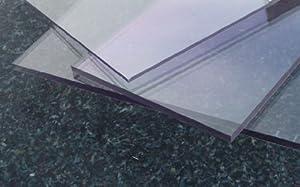 Polycarbonat Platte farblos 1000 x 600 x 1,5 mm transparent PC alt-intech®