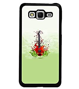 PrintDhaba Guitar D-5536 Back Case Cover for SAMSUNG GALAXY GRAND PRIME (Multi-Coloured)