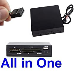 Leegoal 14 in 1 3.5 Internal Memory Card Reader With USB 2.0 Port