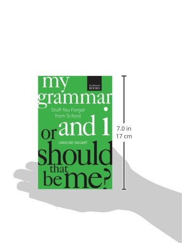 my grammar and i or should that be me pdf
