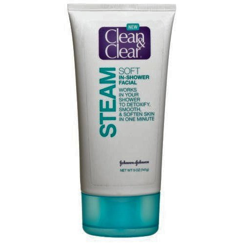 Clean & Clear Steam Soft In-Shower Facial, 5-Oz (3 PACK)