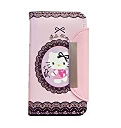 Hello Kitty Lace Case for Apple iPhone 5 (AT&T,T-Mobile ,Sprint,Verizon)-Lace