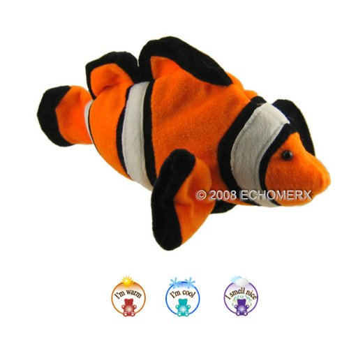 Aroma Clown Fish-Aromatherapy Stuffed Animal-Hot And Cold Therapy