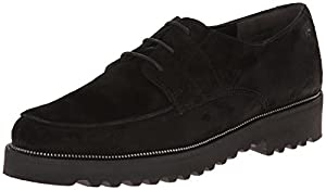 Paul Green Women's Alec Oxford,Black Suede,6.5 M US