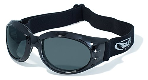 anti fog goggles x065  Global Vision Eyewear Eliminator Z Safety Glasses with Black Frames and  Smoke Anti-Fog Lenses
