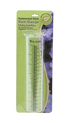 Toland Home Garden 227200 Replacement Rain Gauge Udometer, Clear by Toland Home & Garden