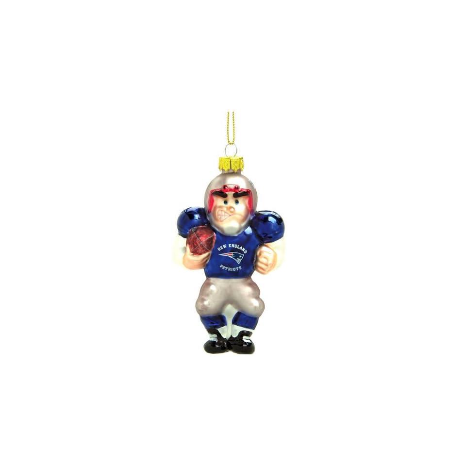 Patriots NFL Glass Player Ornament (5 Caucasian)