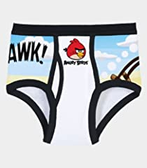 Fruit of the Loom Boys' 5pk Angry Birds Brief