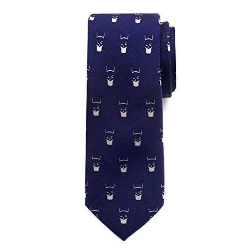 Batman Cowl Big Boys' Silk Tie (Blue Batman Cowl compare prices)