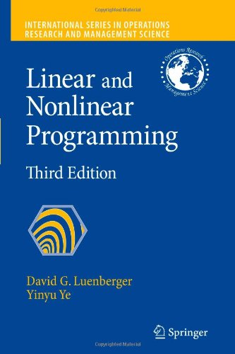 Linear and Nonlinear Programming (International
