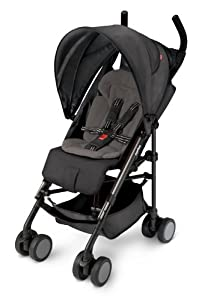 Amazon.com : Aprica Presto Flat Stroller, Jet Set Black ...