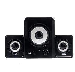 SADA D-200A 2.1 subwoofer USB computer Speaker black