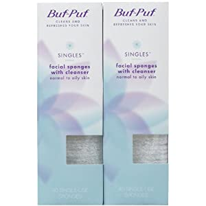With you facial sponge buf puf easier tell
