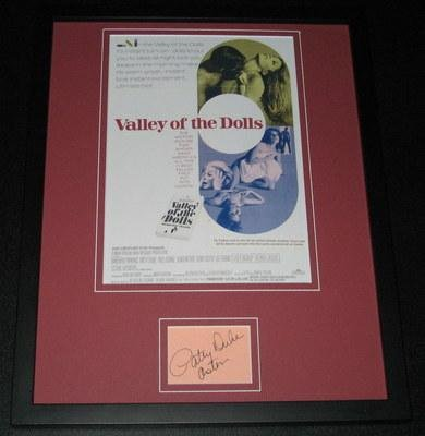 Patty Duke Astin Signed Framed 11x14 Photo Display Valley of the Dolls - Autographed College Photos at Amazon.com